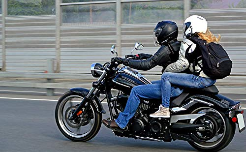 Motorcycle Child Safety Harness with Handles Reflective Material Black by locommi (Image #6)