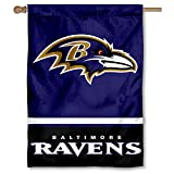 WinCraft Baltimore Ravens Two Sided House Flag