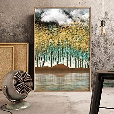 Original Creation, Fascinating Print, Framed Home Artwork Abstract Scenery for Living Room Bedroom