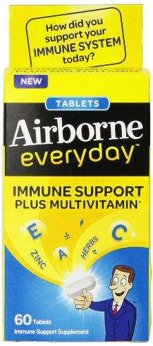 Бортовые Каждый день Витамин С Иммунная поддержка Дополнение и поливитаминов, Caplets, 60 граф
