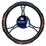 Orioles OFFICIAL Major League Baseball, Steering Wheel Cover (Made to fit 14.5-15.5 steering wheels)