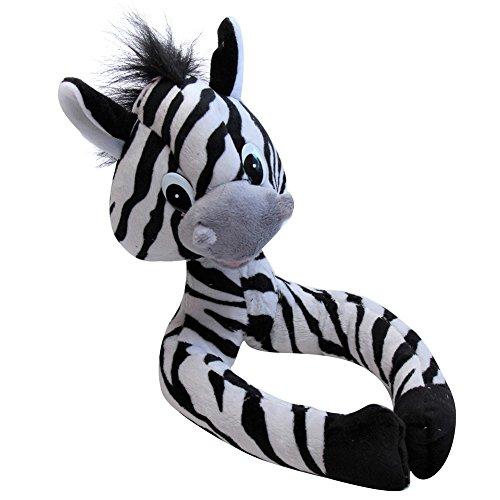 Snuggle Stuffs Kids Plush Zebra Decorative Curtain Clip/Tie Back