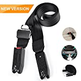 Jolike Baby Car Seat Belt for LATCH and ISOFIX - Strong Hook Tooth with 12000N - 8 Times Sewing - Durable Polyester Nylon for Baby Safety