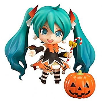 vocaloid hatsune miku halloween version nendoroid action figure