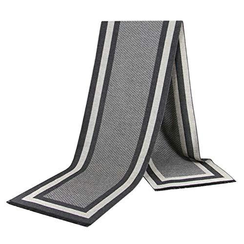 Inverno del caldo del Amdxd di degli della reticolo Style14 per A95 uomini l'autunno Sciarpe sciarpa cotone 180cm SAqvwyY