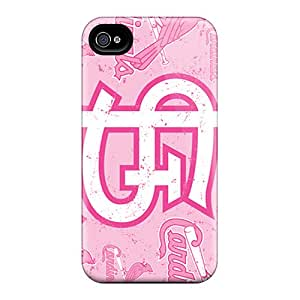 Protective Tpu Case With Fashion Design For Iphone 4/4s (st. Louis Cardinals)