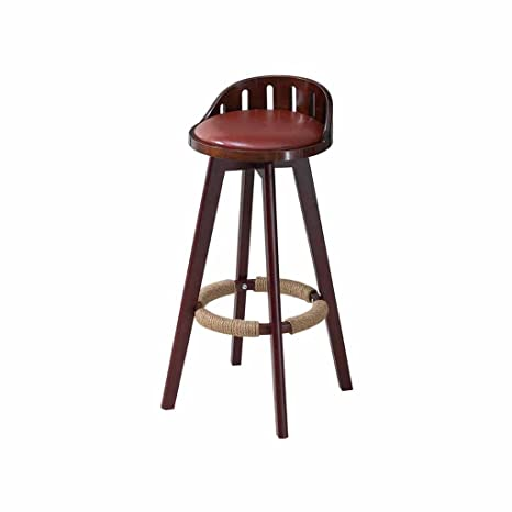 Phenomenal Amazon Com Solid Wood Bar Stool Kitchen Front Counter Tall Ocoug Best Dining Table And Chair Ideas Images Ocougorg