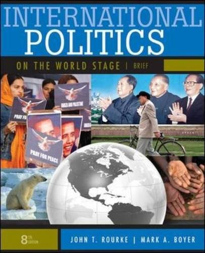 Sell international politics on the world stage, brief textbook.