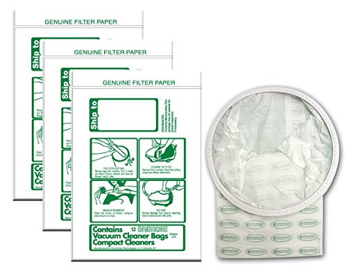 EnviroCare Replacement Vacuum bags for TriStar and Compact Canisters 36 pack