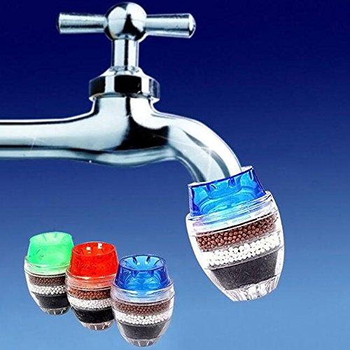 XuBa Coconut Carbon Home Kitchen Restaurant Faucet Tap Multi Layers Water Clean Purifier Filter Cartridge 1pcs (8sets)
