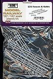Dapol Model Railway Fences and Gates Plastic Kit - OO Scale 1/76