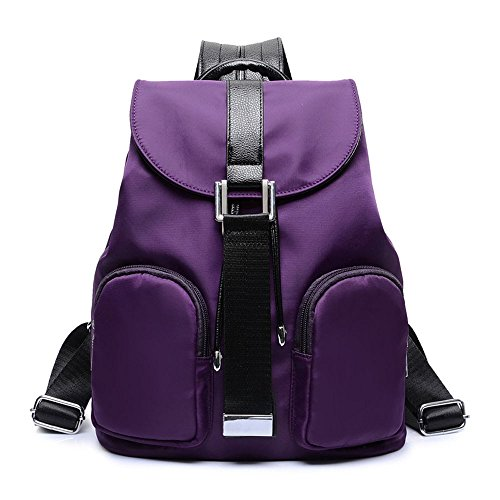 27 35 Purple Voyage Les Sac En Mode Onces Nylon Dos Épaules once Rétro À De fwvqPwS