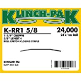 Klinch-Pak K-RR1-5/8 Roll Staple with 5/8'' Leg Length and 1-1/4'' Crown, 1m