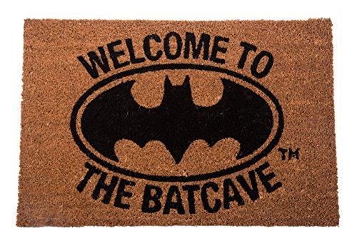 TruffleShuffle Welcome to The Batcave Batman Door Mat