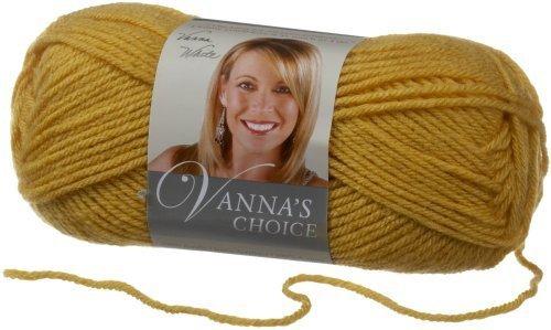 Choice Yarn Mustard - Lion Brand Yarn 860-158I Vanna's Choice Yarn, Mustard by Lion Brand Yarn