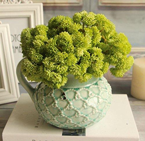Bouquet Fake Fruit Rare Grass Artificial Flower Home Wedding Decor (Green)