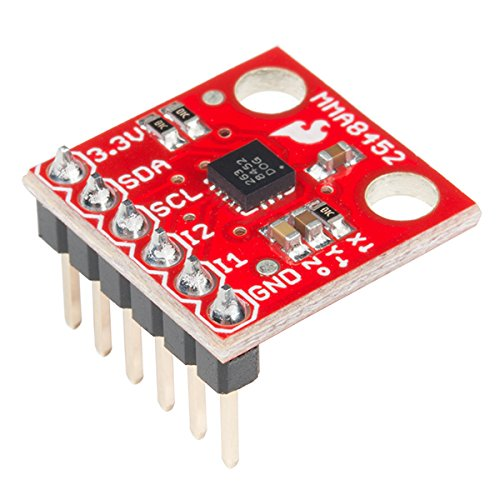 SparkFun Triple Axis Accelerometer Breakout - MMA8452Q (with Headers) by Electronics123.com, Inc.