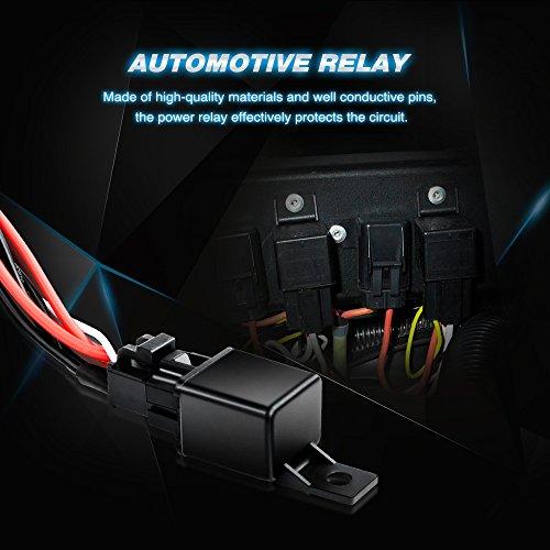 Nilight LED Light Bar Wiring Harness Kit 12V On off Switch - Import on