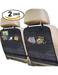 Best Kick Mats with Backseat Organizer Pocket Storage – 100% Waterproof – 2 Pack BOBEBE Online Baby Store From New York to Miami and Los Angeles