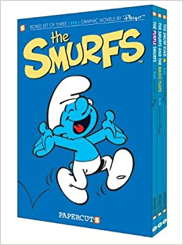 Smurfs Graphic Novels Boxed Set: Vol. 1 - 3, The (The Smurfs)
