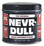 Original Nevr-Dull model L 5 oz Magic Wadding Metal Polish - Quantity 24