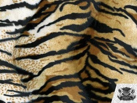 Velboa upholstery  Siberian Tiger Gold Velboa Fabric per yard