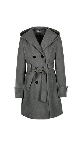 Anastasia - Abrigo de Invierno con Cinturón y Capucha para Mujer