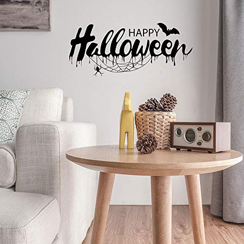 OTTATAT Wall Stickers for Kids 2019, Halloween Witch Background Decorated Living Room Bedroom s Grim Rea Easy to Peel Birthday Holiday Gift for Bride Clearance