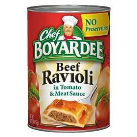 Chef Boyardee Beef Ravioli, 15 oz, 24 Pack