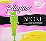 Health & Personal Care : Playtex Sport Unscented Tampon, Regular Absorbency, 36 Count