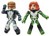 Marvel Minimates All New X-Men Series 59 Mini Figure 2-Pack Cyclops & Marvel Girl