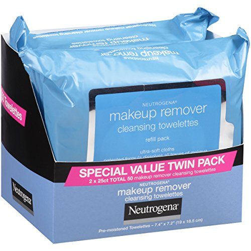 Neutrogena Makeup Removing Wipes, 25 Count, Twin Pack by Neutrogena (Image #2)