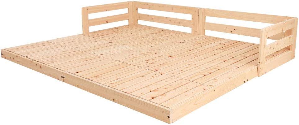 源ベッド ひのきロータイプすのこベッド