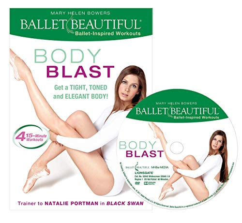 Ballet Beautiful Ballet Workout DVD - Body Blast. Mary Helen Bowers Barre Dance Inspired Fitness DVD