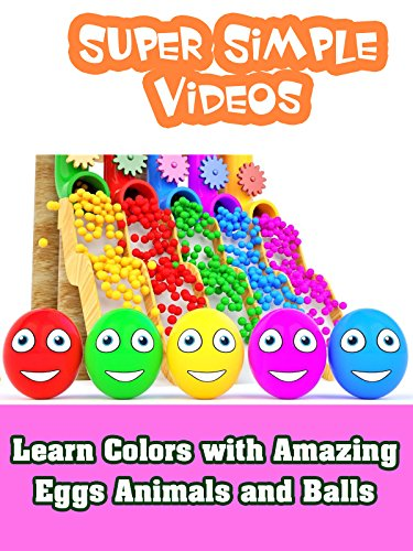 Amazing Animals Video (Learn Colors with Amazing Eggs Animals and Balls)
