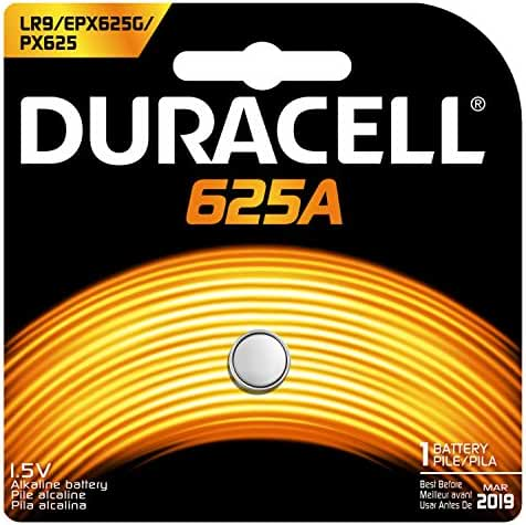 Duracell PX625ABPK Photo Alkaline Batteries, Size 1.5 Volt, Pack of 3