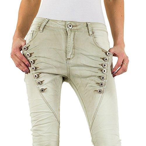 Femme Mozzaar Mozzaar Green Jeans Jeans qq0twB8