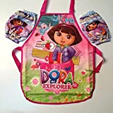 Best CJB Box Sets - CJB Lovely Dora the Explorer Kids Waterproof Apron Review