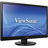 Viewsonic VA2246M-LED Black 22 WideScreen Screen 1920 x 1080 Resolution LCD Flat Panel Monitor