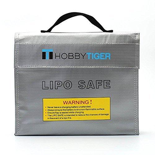 HOBBYTIGER Fire Resistant Bag LiPo Battery Safe Charging Storage Sack Fireproof Explosionproof Guard