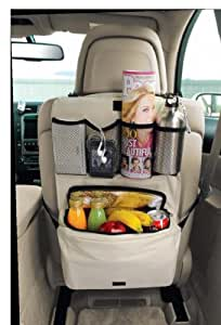 Seat Back Organizer W/cooler Bag (Cream)