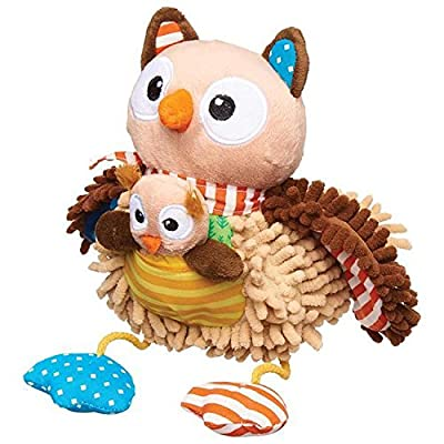 Wee Believers Lil' Prayer Buddy Olivia The Owl Singing Plush Animal: Toys & Games