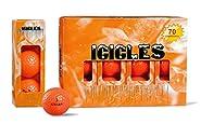 Vgolf Orange Crystal Ball (Pack of 12)