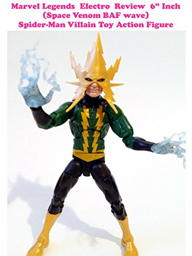 Review: Marvel Legends Electro Review 6