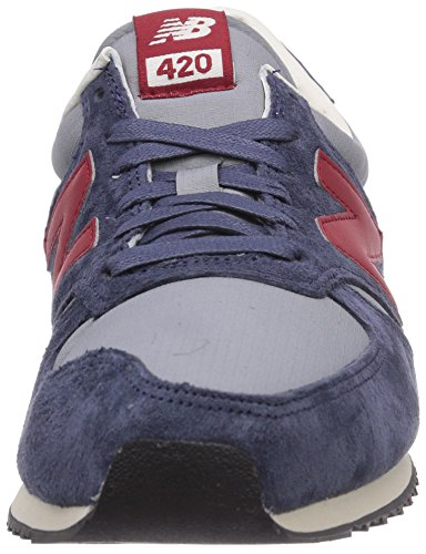 Azul New Zapatillas Blue Lifestyle Adulto Unisex Red Balance U420 q6vza
