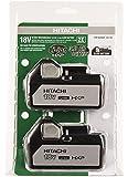 Hitachi 339336 18V 3.0Ah Lithium-Ion Slide-Style Battery (2 Pack)