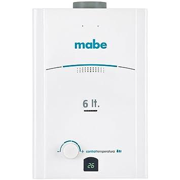 Mabe CMP60TNBL Vertical Depósito (almacenamiento de agua) Sistema de calentador único Blanco calentadory -