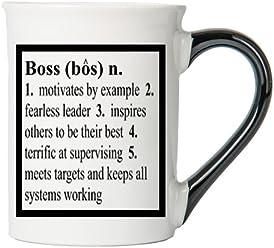 Boss Mug, Boss Coffee Cup, Ceramic Boss Mug, Custom Boss Gifts By Tumbleweed