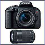 Canon EOS Rebel T7i DSLR Camera with 18-55mm STM IS Lens (USA Warranty) + Canon EF-S 55-250mm f/4-5.6 IS STM Lens