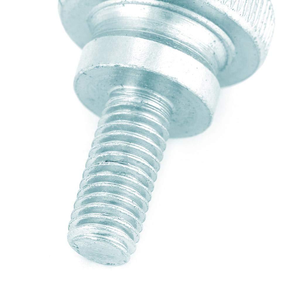 10 st/ücke M8 R/ändelschraube Verzinkter Kohlenstoffstahl Flache R/ändelkopfschrauben M8*20(10pcs)